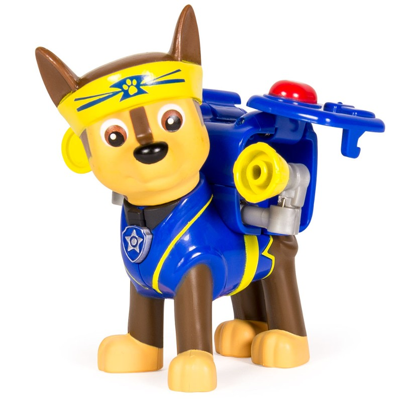 Boneco com Mecanismo Patrulha Canina Série Heróis Karatê Chase - Sunny