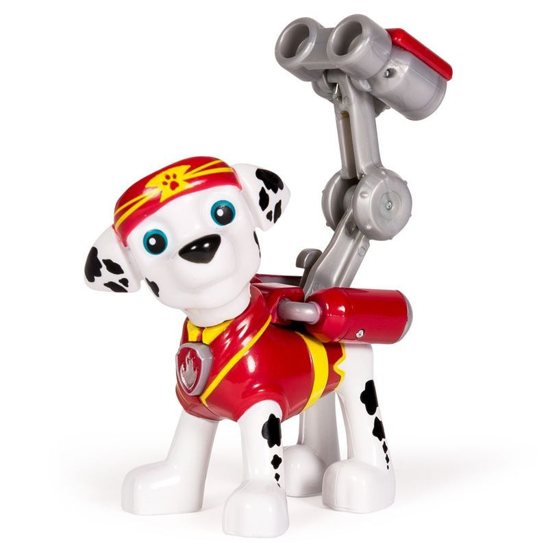 Mini Boneco com Mecanismo Patrulha Canina Série Heróis Karatê Marshall - Sunny