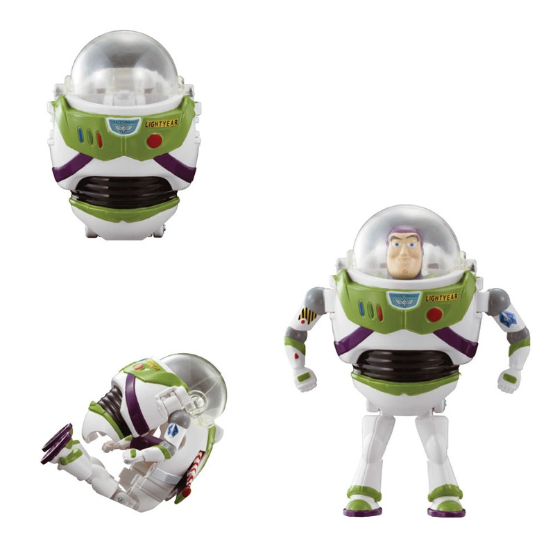 Mini Boneco Hatch´N Heroes Disney Toy Story Buzz Lightyear - DTC