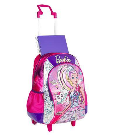 Mochila com Rodinha Barbie Aventura nas Estrelas com caixa de som - Sestini