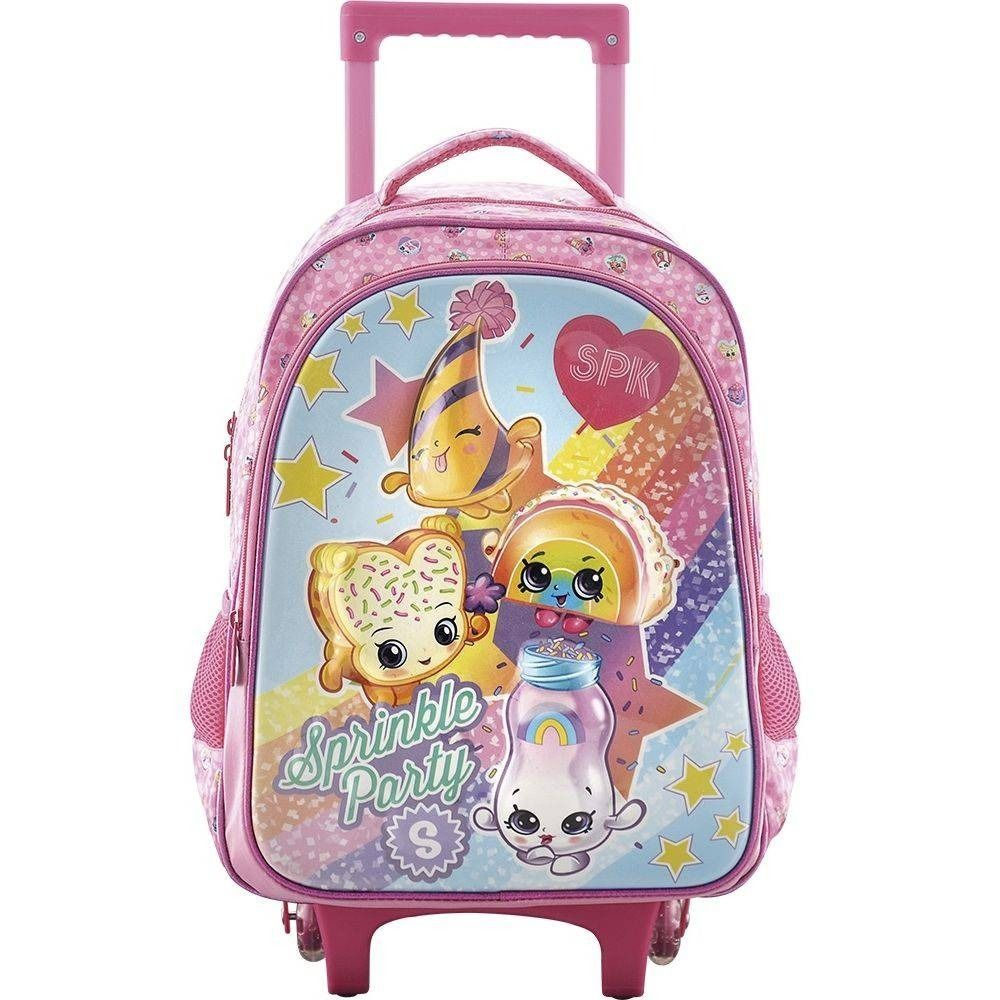Mochila com Rodinha Grande Shoppies Sprinkle Party - Xeryus