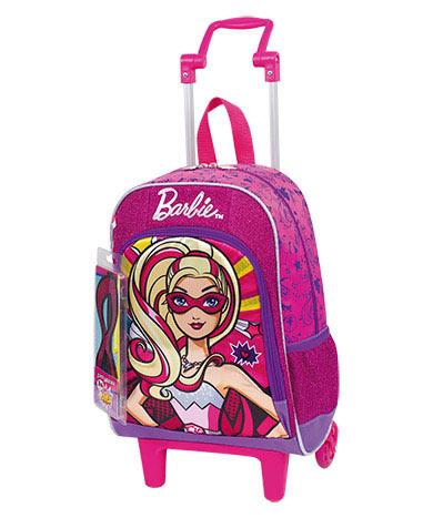 Mochila com Rodinha Média Barbie Super Princesa - Sestini