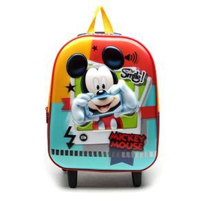 Mochila com Rodinha Mickey Mouse Média - Sestini