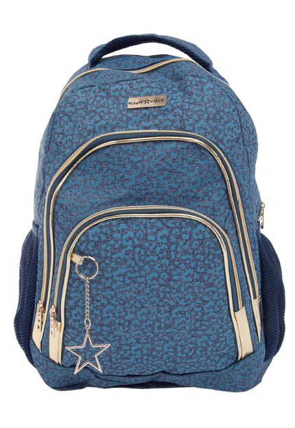 Bolsa Dourada Planet Girl : Mochila costas grande planet girls on?a jeans dermiwil