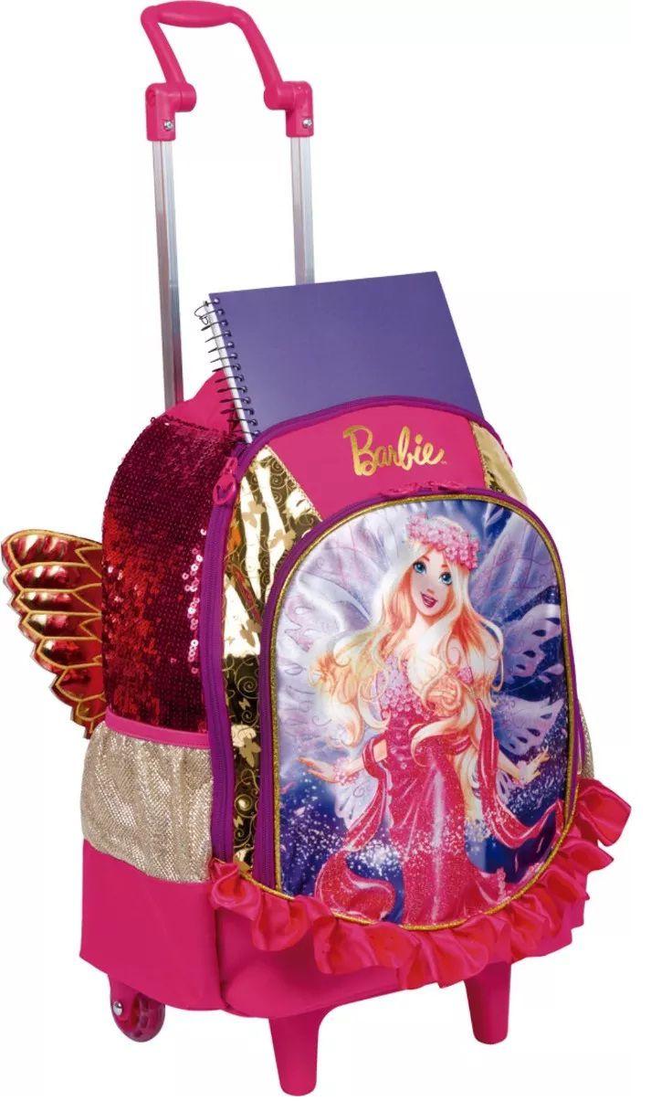 Mochila de Carrinho Barbie Dreamtopia Grande - Sestini