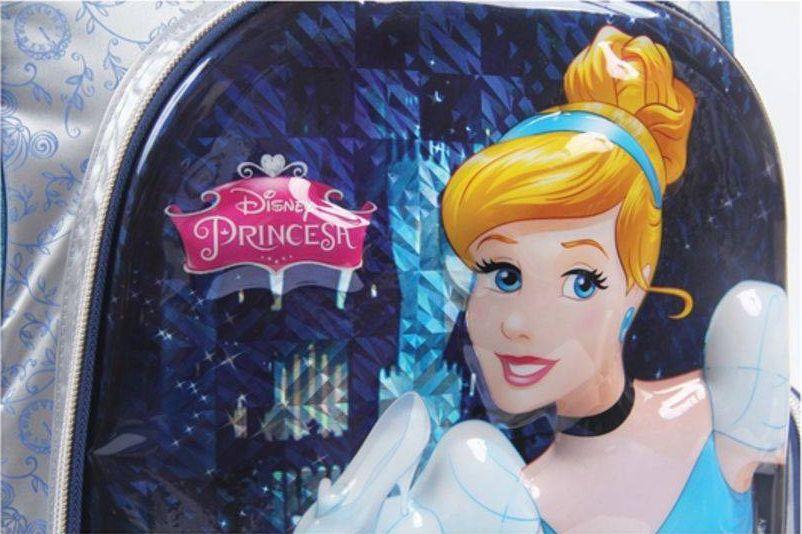 Mochila de Carrinho Disney Princesa Cinderela G - Dermiwil