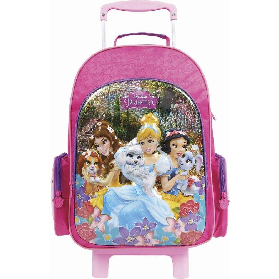 Mochila de Carrinho Disney Princesas - Dermiwil