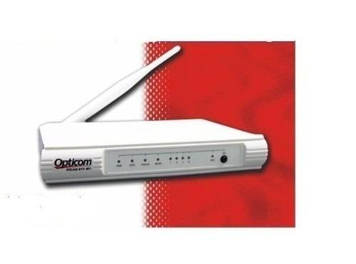 Modem Roteador Wireless 150Mbps Opticom Ds-Link 477-M1