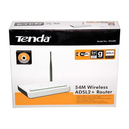 Modem Roteador Wireless Tenda W548D V2.0 54Mbps