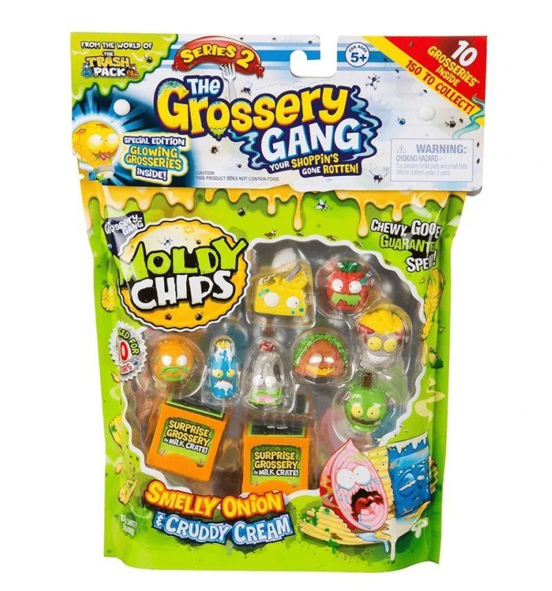 Moldy Chips Série 2 The Grossery Gang Cebolha e Creme Podre - DTC