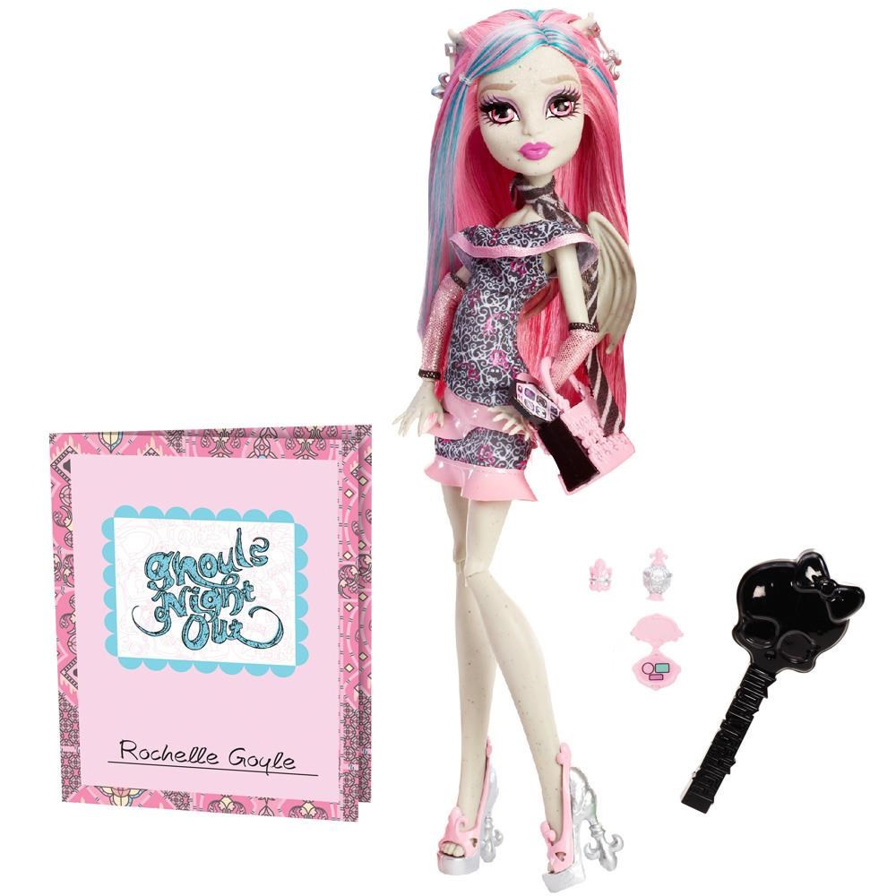 Boneca Monster High Balada Monstro Rochelle Goyle - Mattel