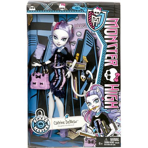 Boneca Monster High Foto de Terror Catrine DeMew - Mattel