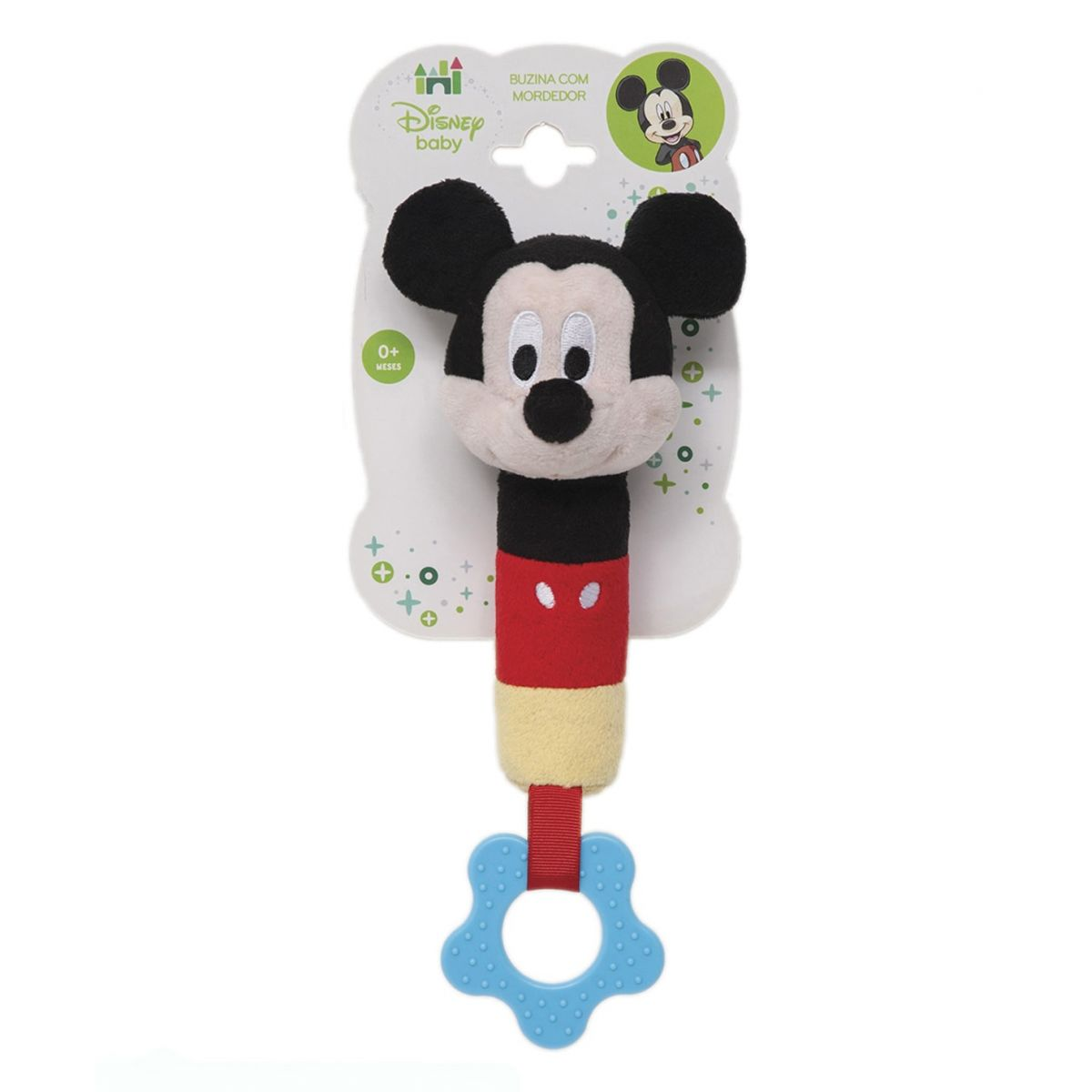 Mordedor com Buzina Mickey Disney Baby - Buba