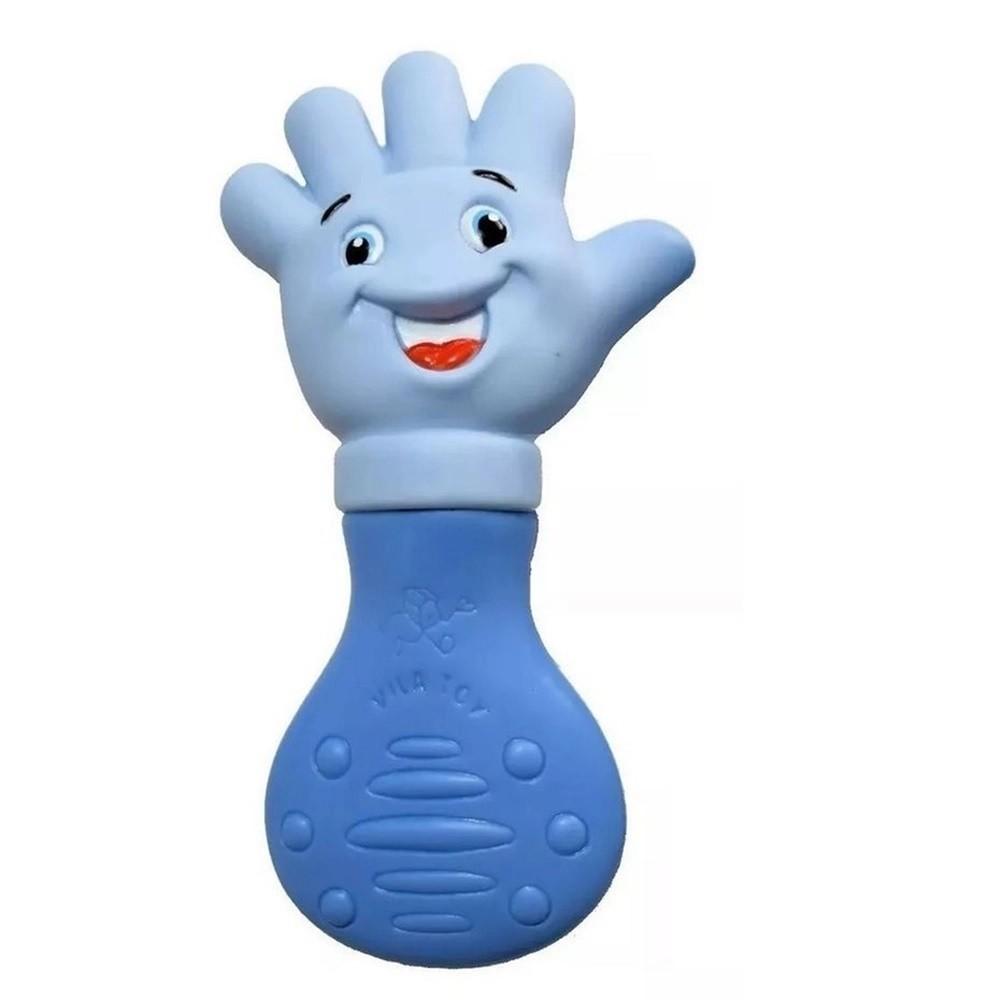 Mordedor Mãozinha Azul - Vila Toy