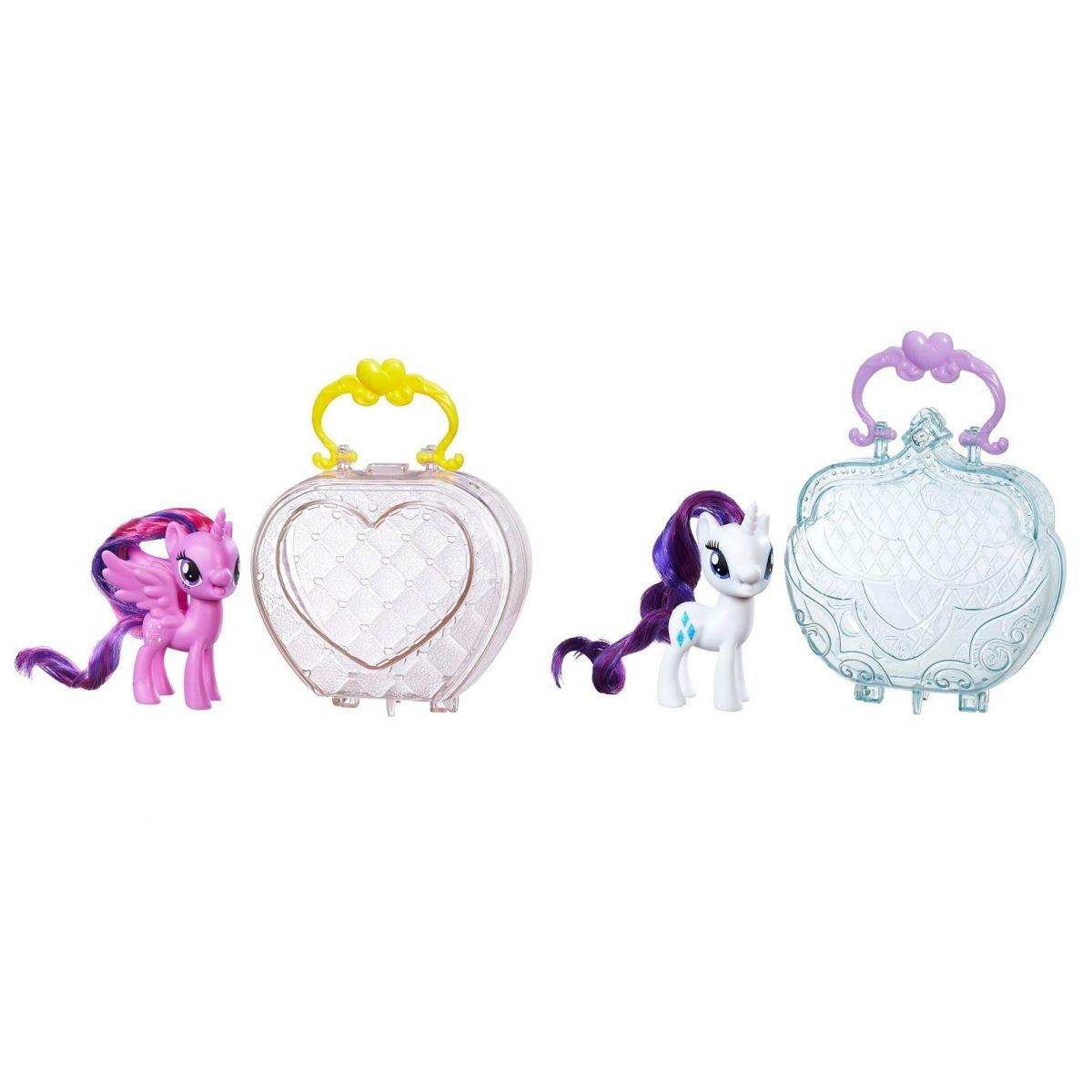 My Little Pony Bolsinha de Passeio - Rarity/ Twilight Sparkle - Hasbro
