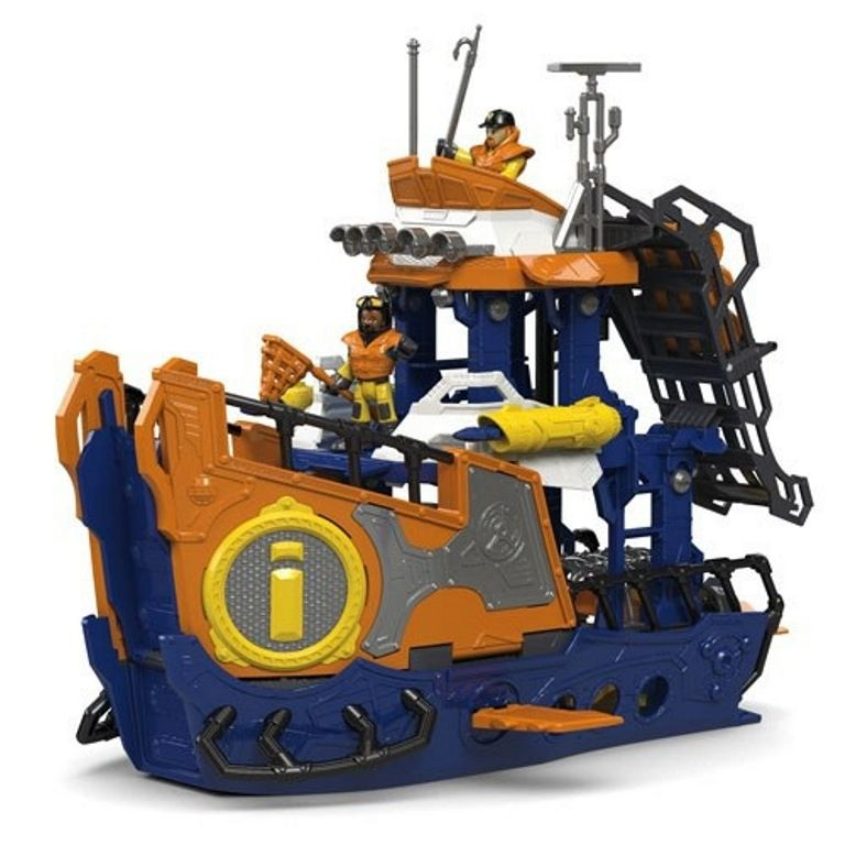 Navio Comando Submarino Imaginext - Fisher-Price
