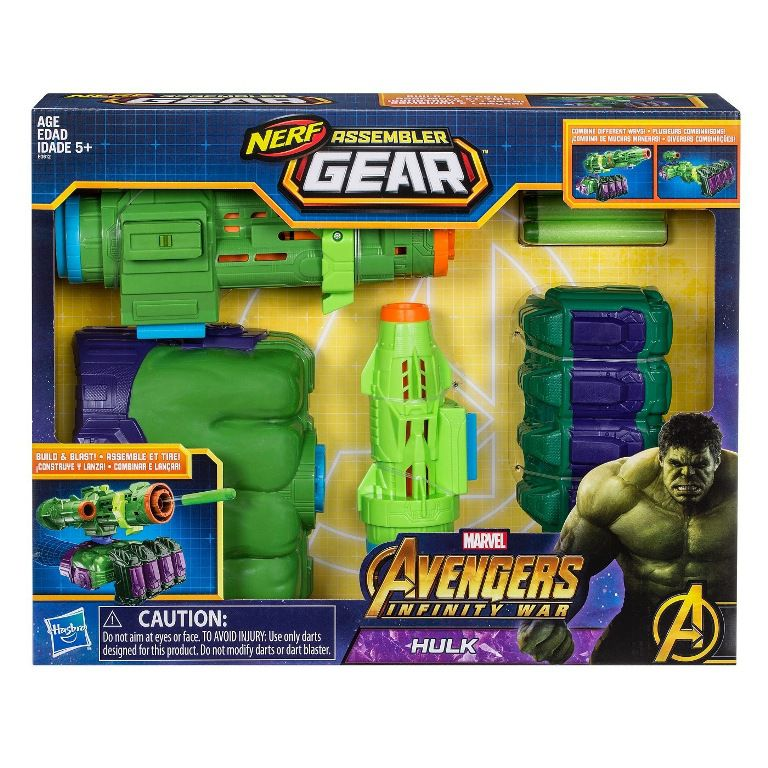 Nerf Assembler Gear Hulk Avengers Infinity War - Hasbro