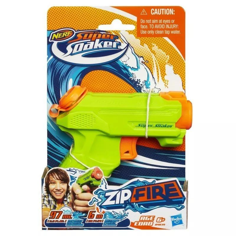 Nerf Super Soaker Zip Fire - Hasbro