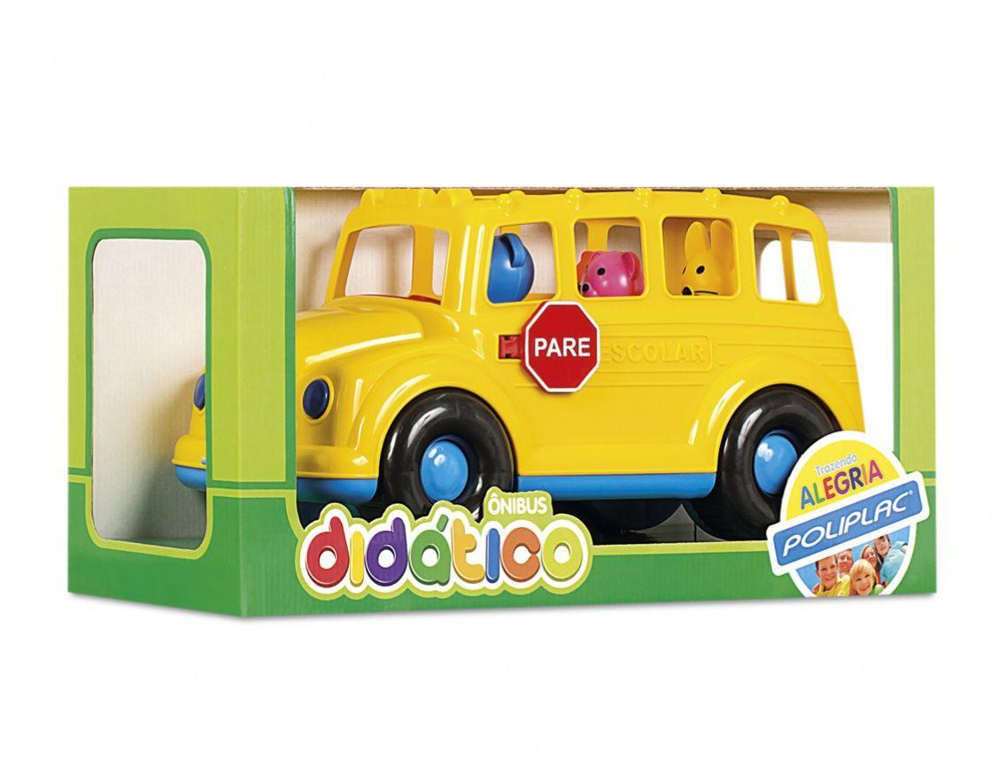 Ônibus Didático com Som - Poliplac