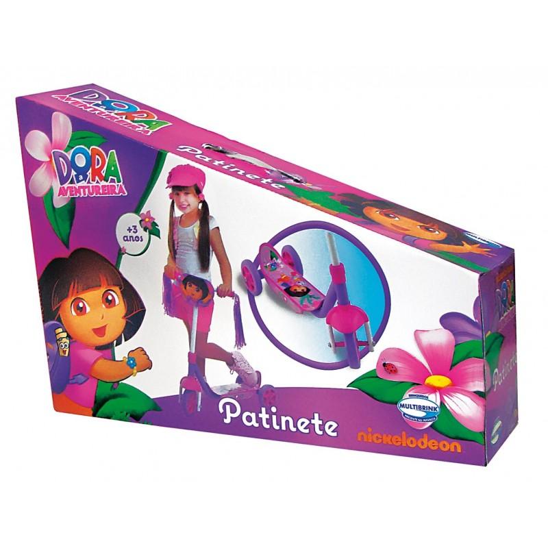 Patinete Dora Aventureira 3 Rodas - Multibrink