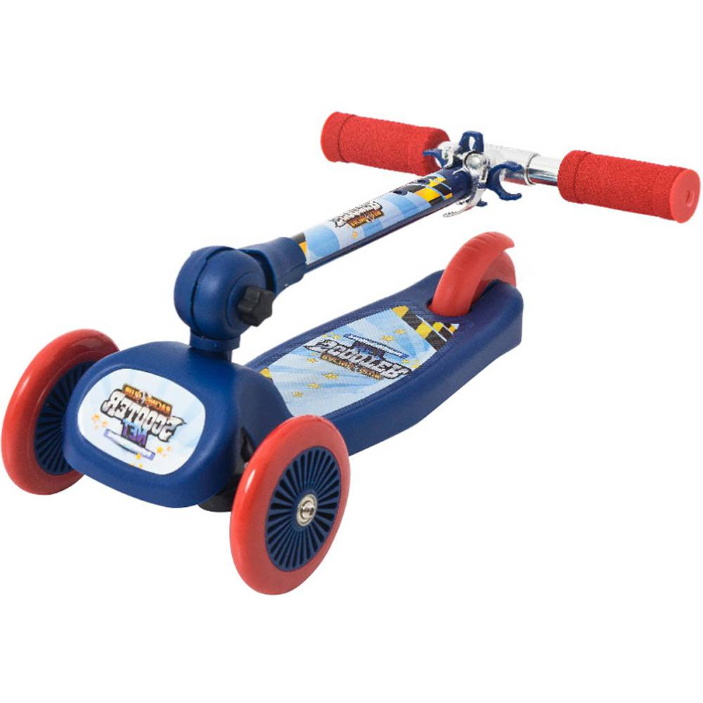Patinete Regulável Racing Club Scooter Net Mini 3 Rodas - Zoop Toys