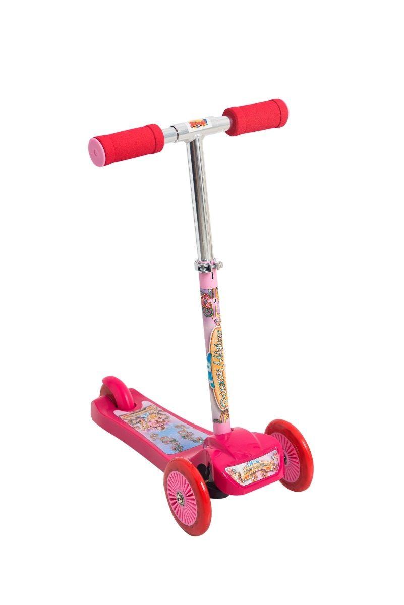 Patinete Scooter Net Princesas Mágicas 3 Rodas - Zoop Toys