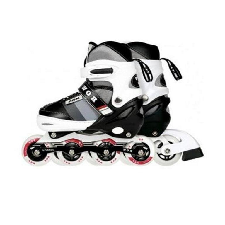 Patins In-Line Roller Semi Pro Row 35 ao 38 Cinza - Mor