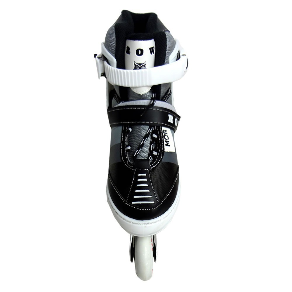 Patins In-Line Roller Semi Pro Row 35 ao 38 Cinza - Mor