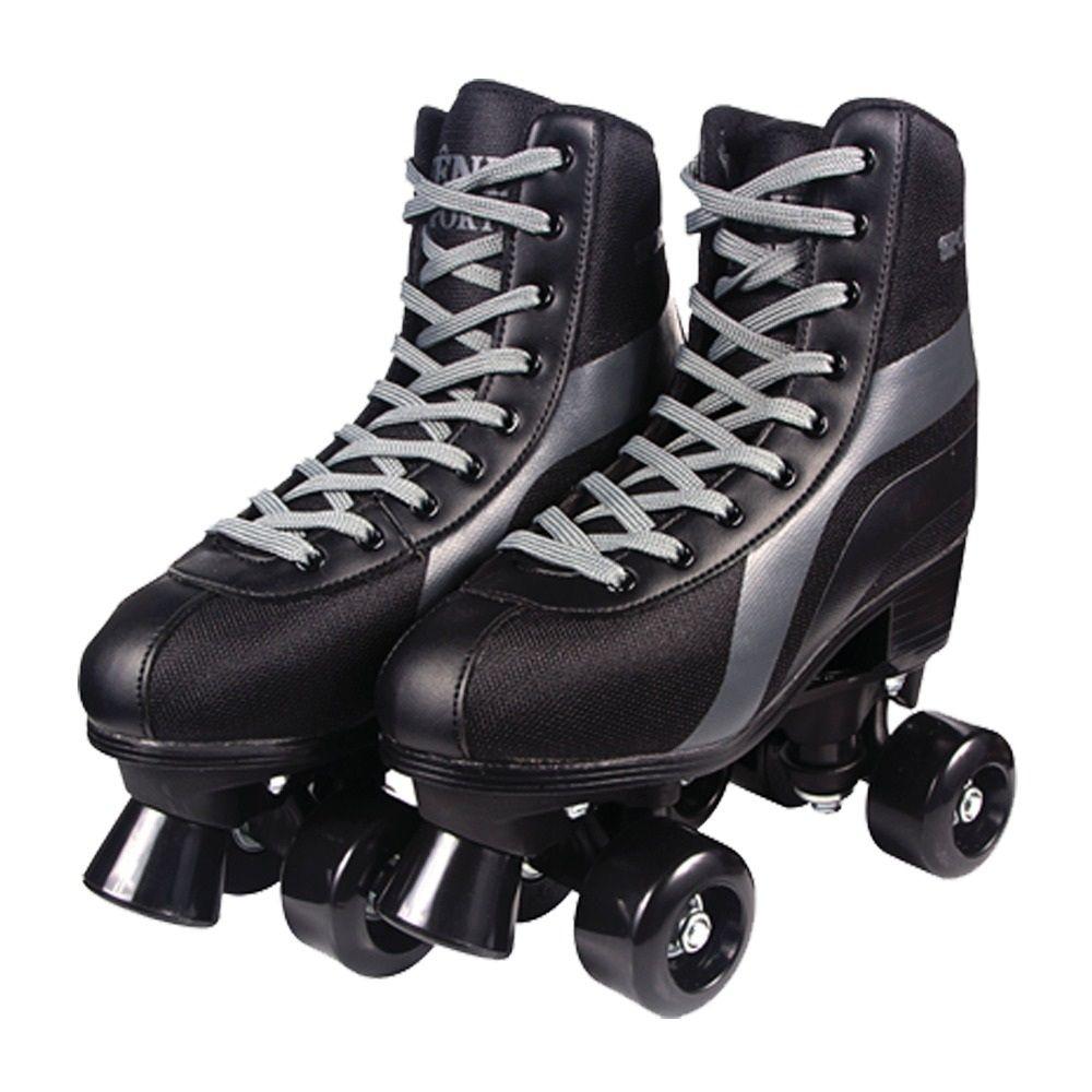 Patins Roller Skate Preto - Fênix