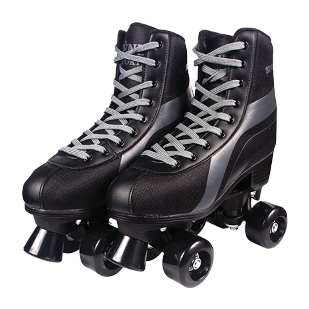 Patins Roller Skate Preto - Fenix Brinquedos