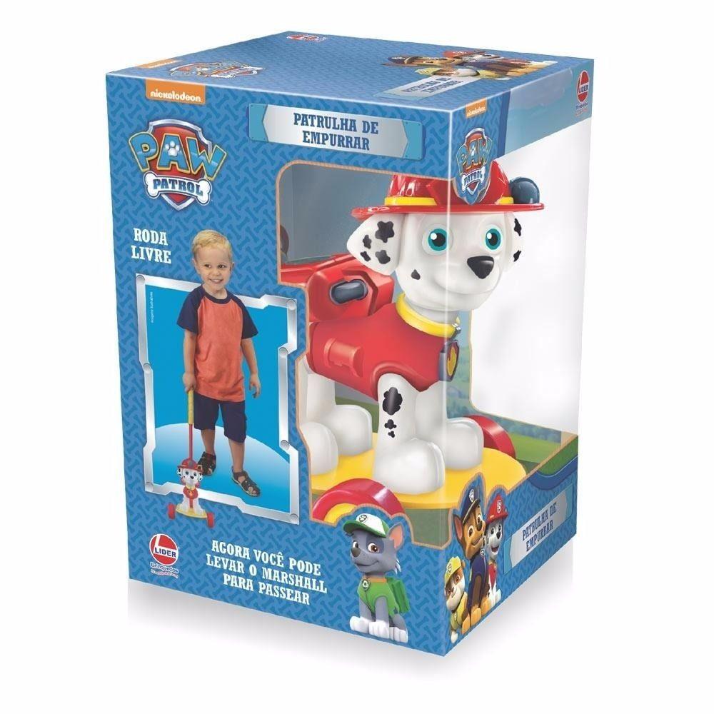 Patrulha Canina de Empurrar - Lider Brinquedos