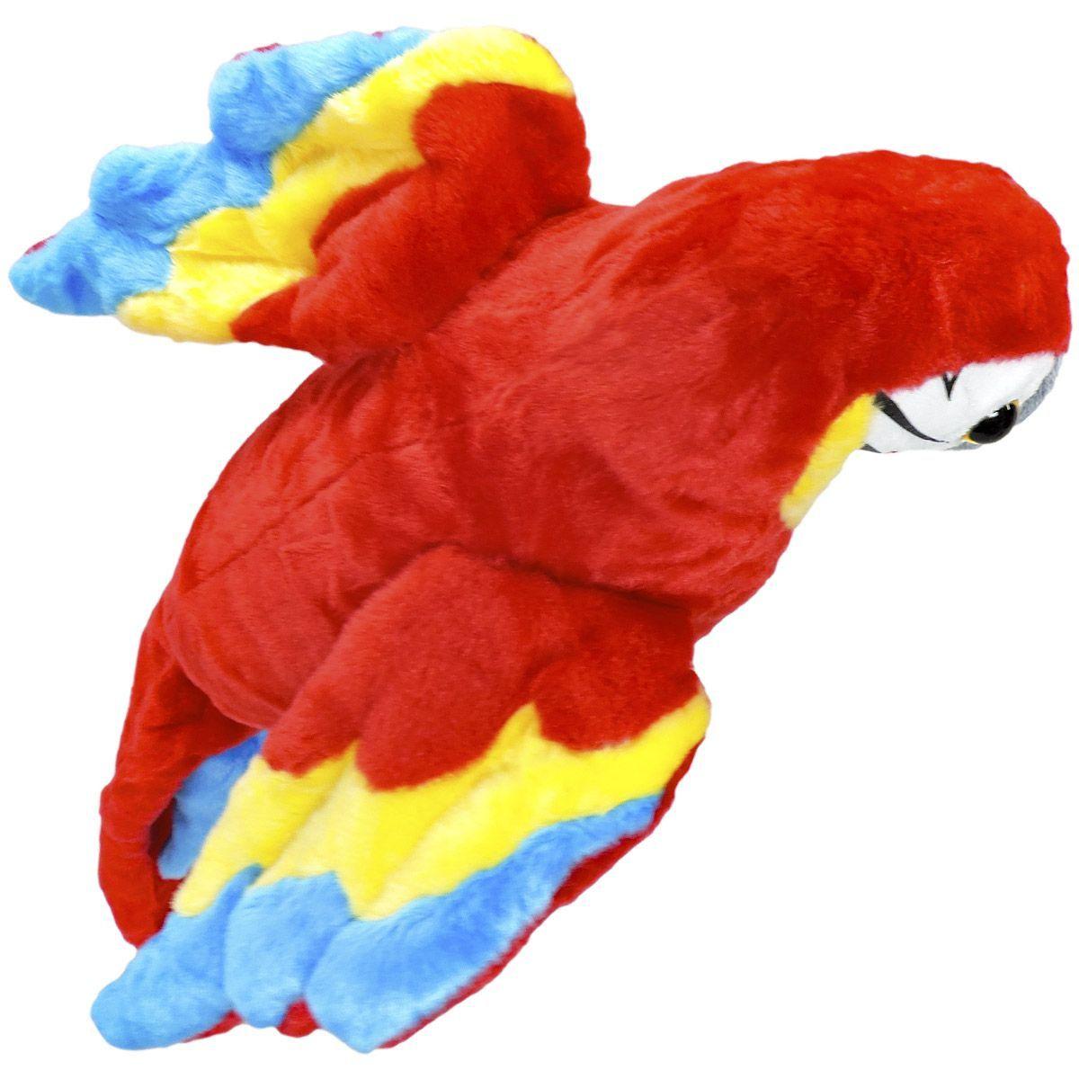 Pelúcia Arara Vermelha - Fizzy