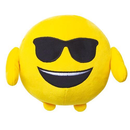 Pelúcia Emoji Óculos de Sol - Multikids