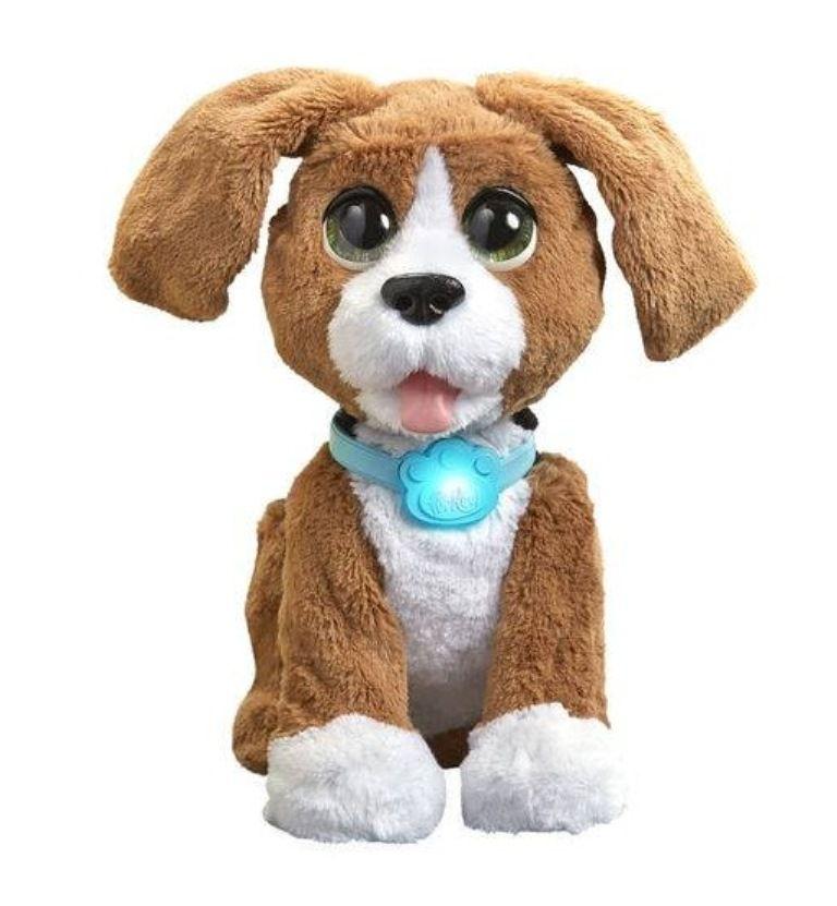 Pelúcia Interativa Bibo Beagle o Cachorro Tagarela FurReal - Hasbro