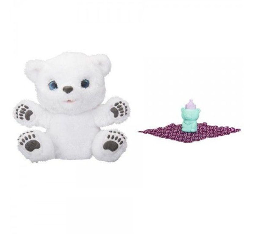 Pelúcia Interativa Polar, A Ursinha Resfriada FurReal - Hasbro