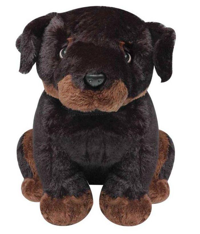 Pelúcia Mini Cão Rott com Latido - Lovely Toys