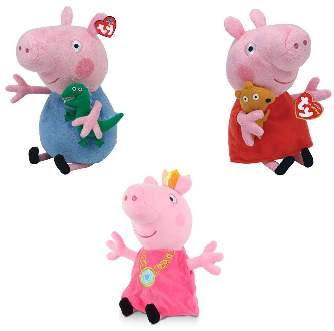 Pelúcia Peppa Pig e George Grande - DTC
