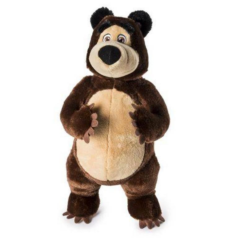 Pelúcia Urso Masha e o Urso com Som - Sunny
