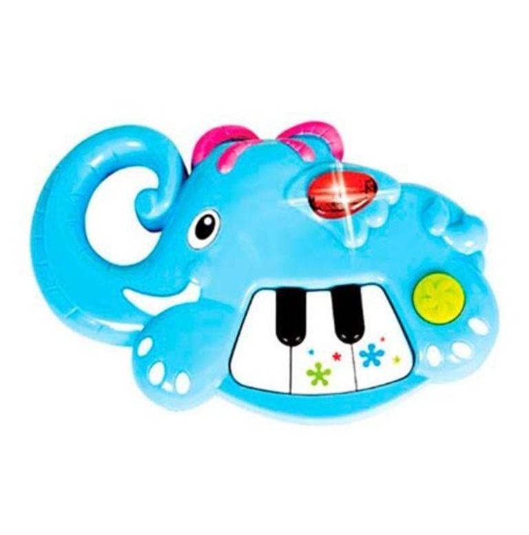 Piano Pianimais com Luz e Som - Zoop Toys