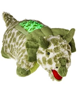Pillow Pets Dream Lites Green Triceratops Projetor Dinossauro Triceratops - DTC