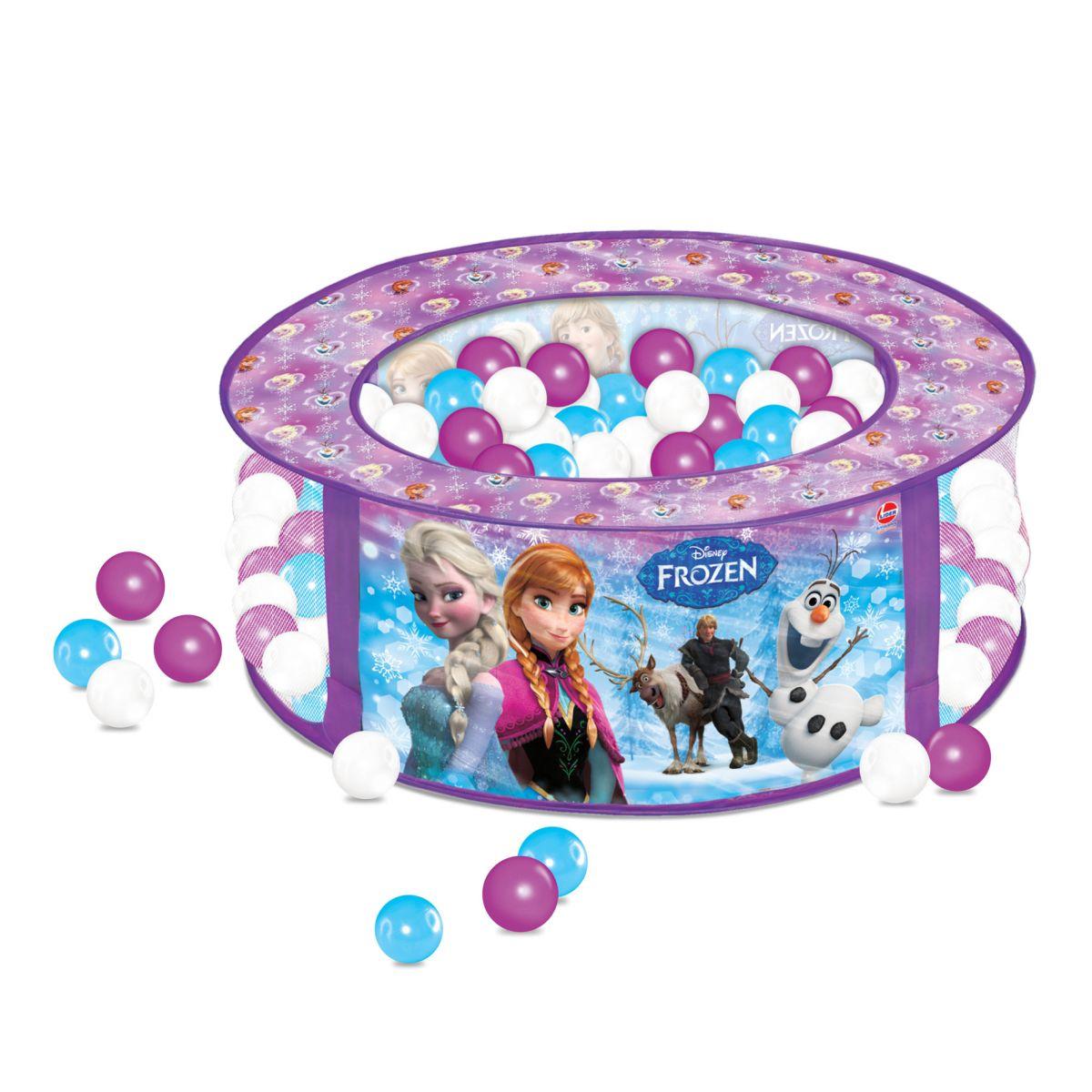 Piscina de Bolinhas Frozen Disney com 100 Bolinhas - Líder