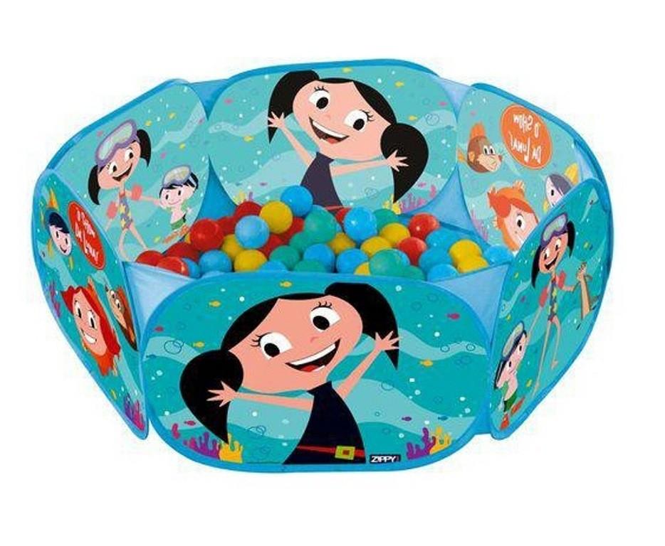 Piscina de Bolinhas O Show da Luna com 100 Bolinhas - Zippy Toys