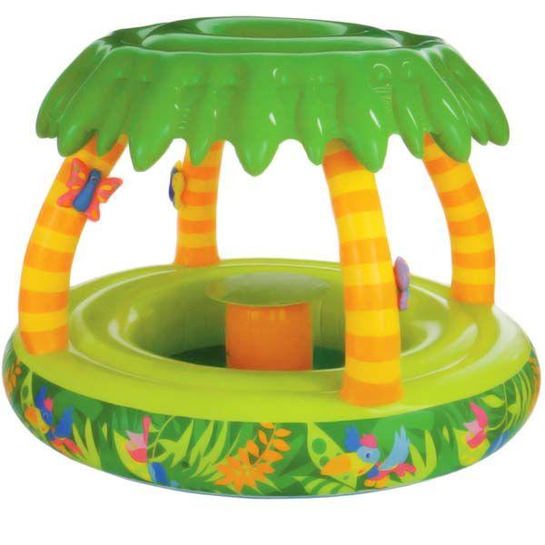 Piscina infantil da selva com cobertura 107 litros intex for Piscina infantil