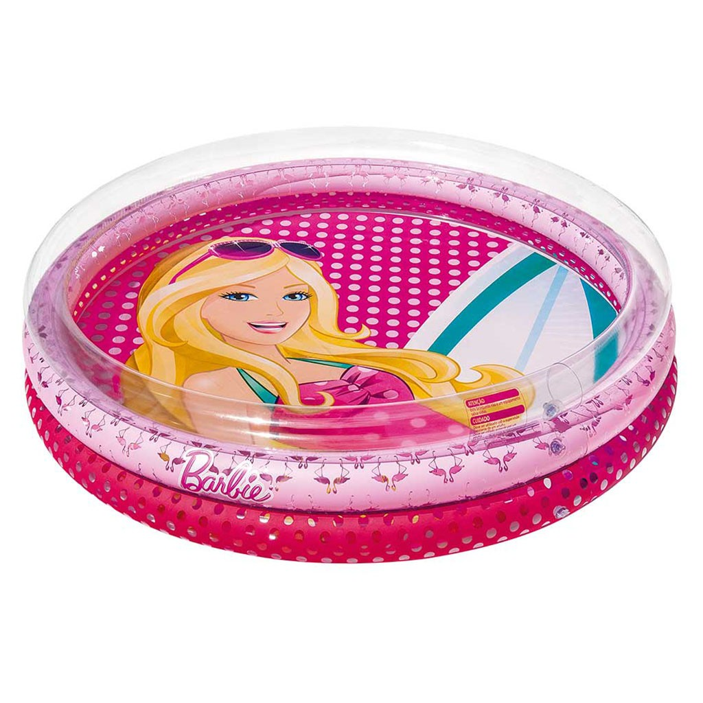 Piscina Fashion Média Barbie 135 Litros - FUN