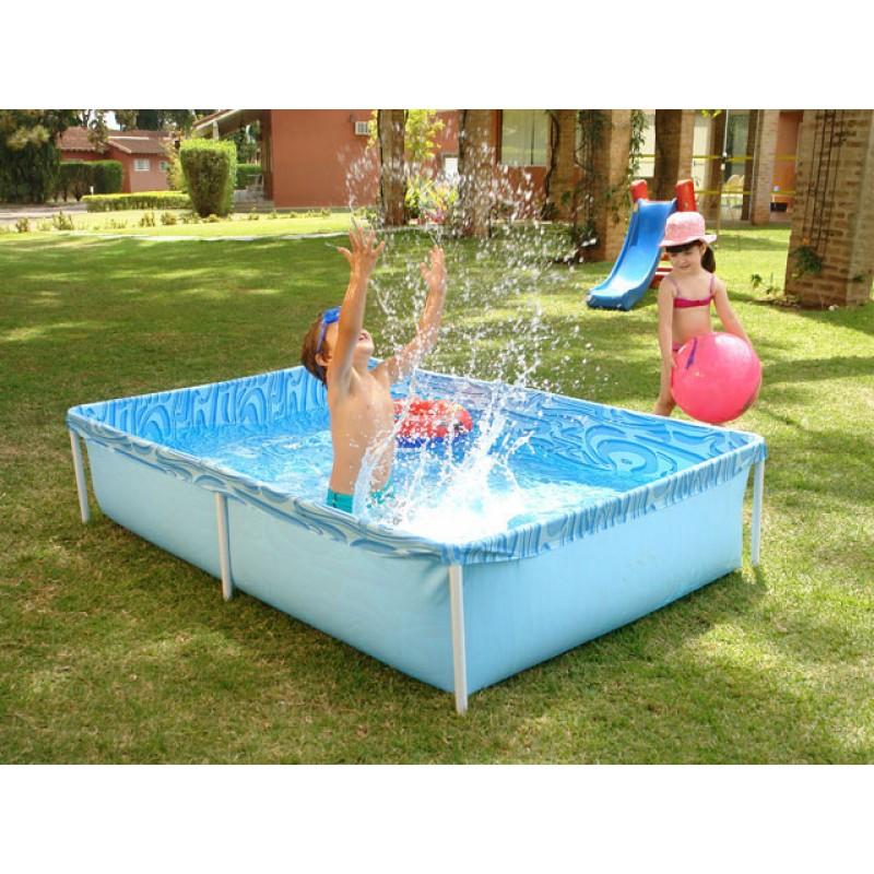 Piscina infl vel infantil 1000 litros mor for Piscina infantil