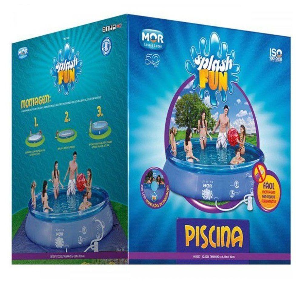 Piscina Inflável 12.000 Litros - MOR