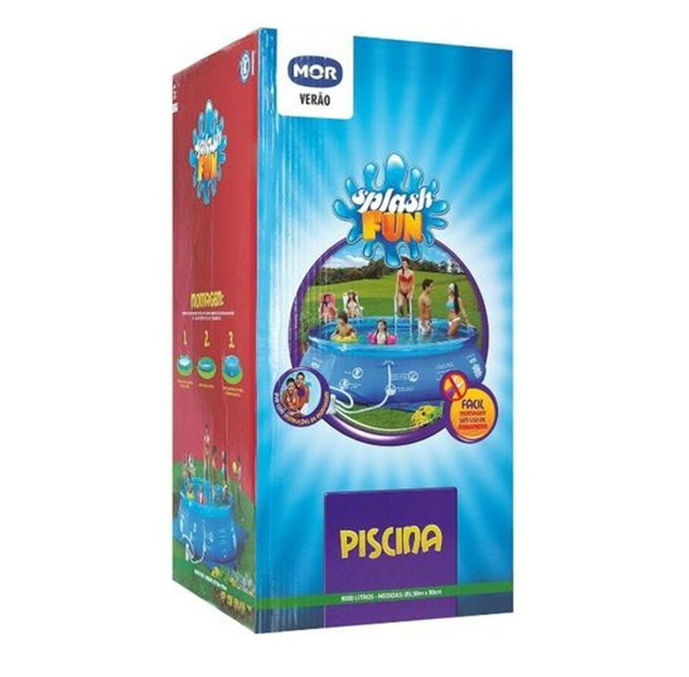 Piscina Inflável Splash Fun 9.000 Litros - MOR