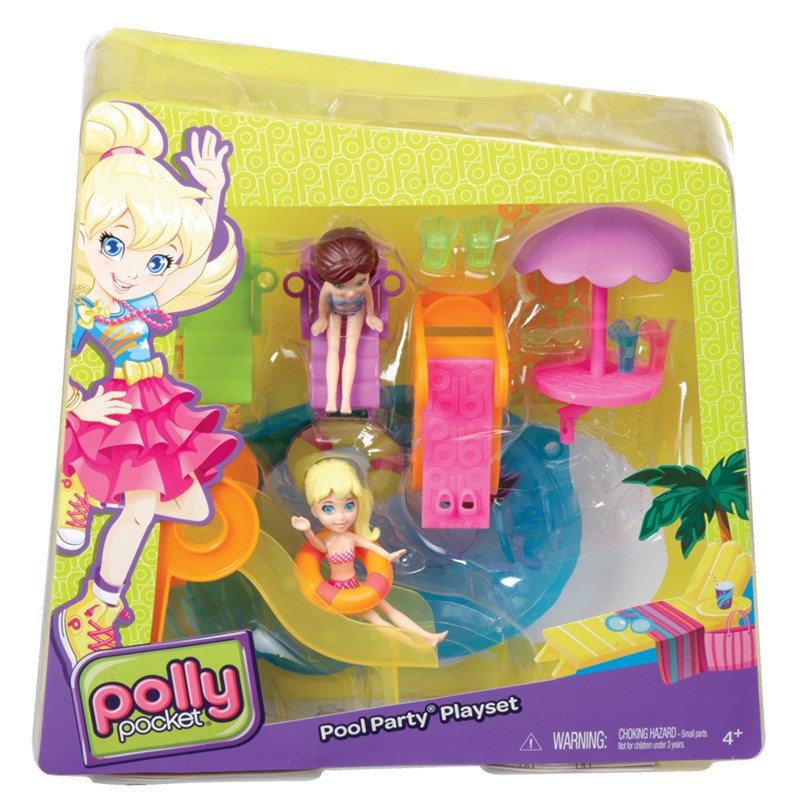 Piscina polly pocket a melhor piscina de todas mattel for Piscine polly pocket