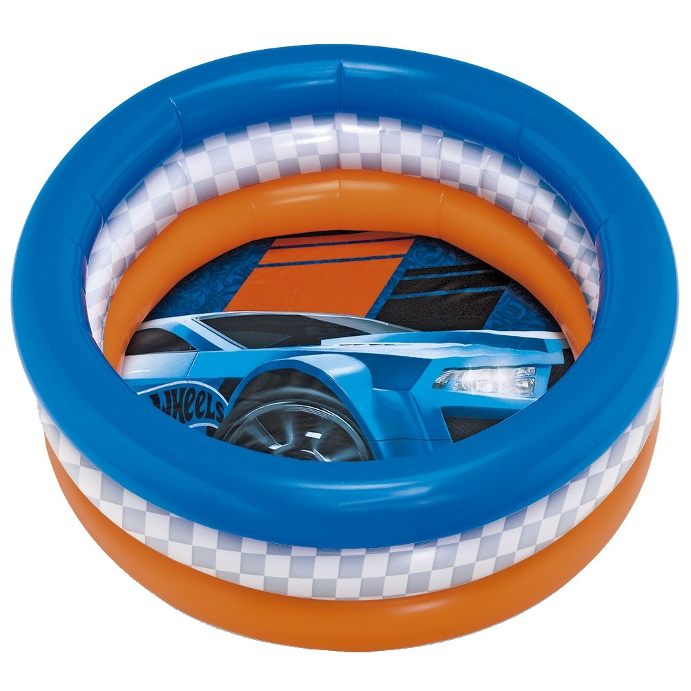 Piscina Radical Pequena Hot Wheels 68 Litros - FUN