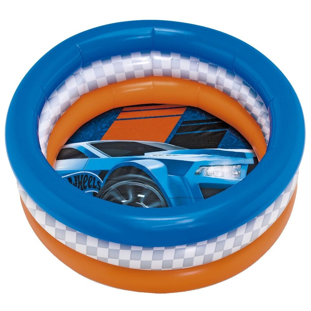 Piscina Radical Pequena Hot Wheels 68 Litros - FUN